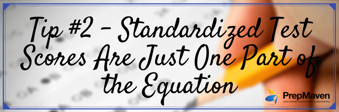 Standardized Test Scores Are Just One Part of the Equation