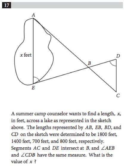 SAT Math: Geometry Problems
