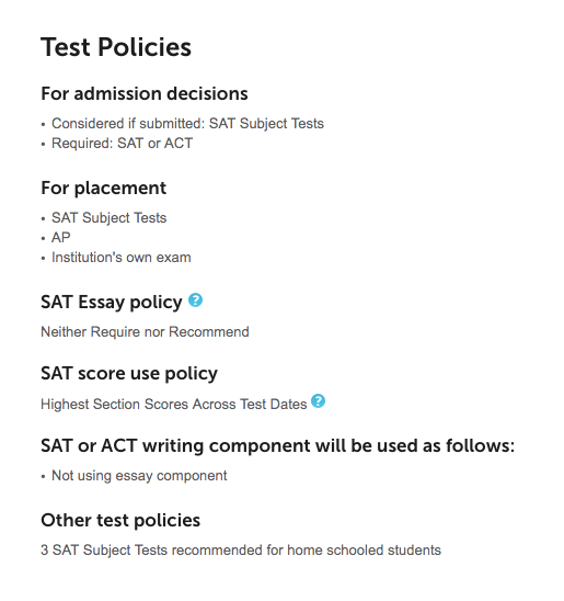 University of Notre Dame_Is the SAT Optional?
