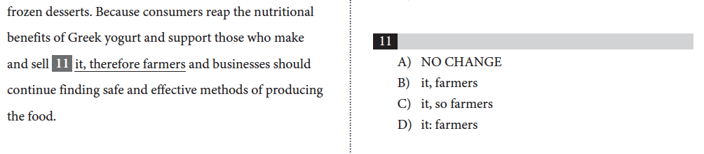 ACT and SAT Punctuation: Combining Sentences Example