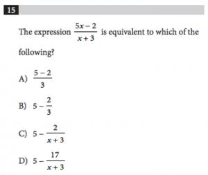 SAT Math No-Calculator Tips_Example 2