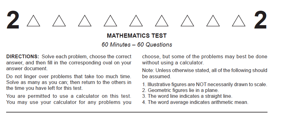 ACT Math Strategies from the Experts