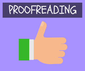 College Essay - Proofreading